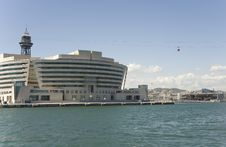 Free Barcelona, Building Of Sea Passenger Port. Royalty Free Stock Photo - 25643515