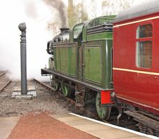 Steam Train. Royalty Free Stock Image