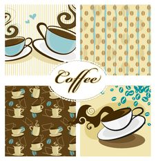 Free Coffee Design. Vector Royalty Free Stock Image - 25645326
