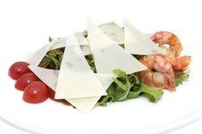 Free Shrimp Salad Stock Photo - 25645780