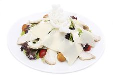 Salad With Vegetables Royalty Free Stock Photography