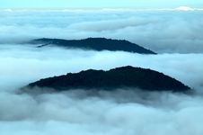 Free Inversion Of The Mountains Royalty Free Stock Image - 25647436