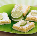 Free Platter Of Lime Bars Royalty Free Stock Image - 25658406