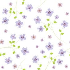 Free Flower Pattern Stock Photography - 25651342