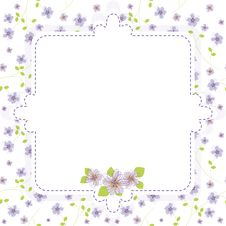 Free Flower Pattern Stock Images - 25651354