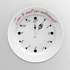 Decorative Clock. Stock Photography