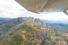 Free Flight Over Montserrat. Catalonia, Spain. Stock Photos - 25657833