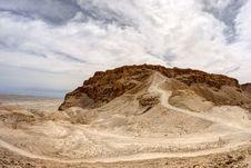 Free Masada Fortress Royalty Free Stock Photos - 25659608