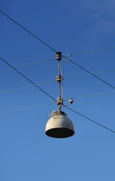 Free Wired Street Lamp &x28;unlit&x29; Stock Photography - 25659732