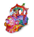 Free Child Train Carousel Stock Image - 25660601