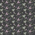 Free Beautiful Seamless Pattern With Roses Stock Photo - 25662360