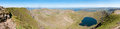 Free Lake District, View From Helvellyn - Panorama Royalty Free Stock Photo - 25662475