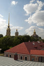 Free The Peter And Paul Fortress Roof Stock Photography - 25664412