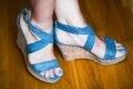 Free Feet Woman Stock Image - 25667731