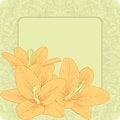 Free Vector Greeting Card. Stock Photos - 25668653