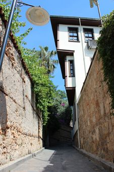 Free Old Town In Antalya Stock Images - 25661814