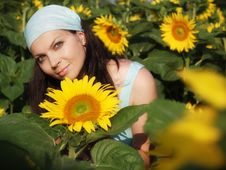 Free Farm Woman Royalty Free Stock Image - 25661896