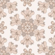 Free Vector Vintage Ethnic Pattern Royalty Free Stock Photography - 25662277