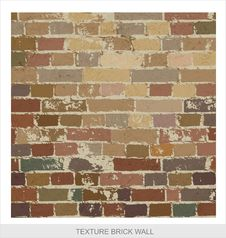 Free Brick Wall Texture Grange Style Stock Photos - 25662653