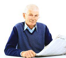 Free Senior Man Royalty Free Stock Photos - 25663298