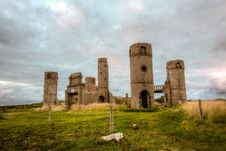 Free Old Stone Castle Royalty Free Stock Photography - 25665607