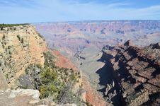 Free Grand Canyon Vista Royalty Free Stock Photo - 25666345