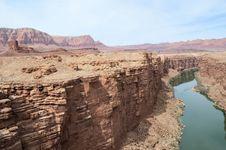 Free Colorado River Escarpment Stock Images - 25666404