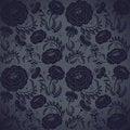 Free Floral Design Dark Royalty Free Stock Image - 25671866