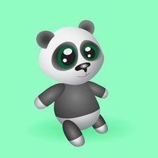 Free Toy Panda Royalty Free Stock Photo - 25671755