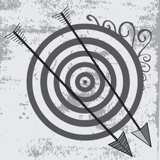 Archery Background Royalty Free Stock Images