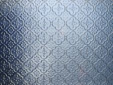Free Blue Pattern Glass Royalty Free Stock Photo - 25676975