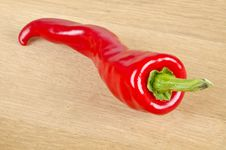 Free Red Hot Pepper Royalty Free Stock Photography - 25677857