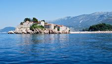 Free Sveti Stefan Island Stock Photography - 25679512