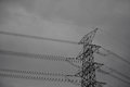 Free High Voltage Towers. Royalty Free Stock Photography - 25684297