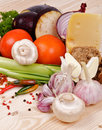 Free Ingredients And Vegetables Stock Photos - 25689153