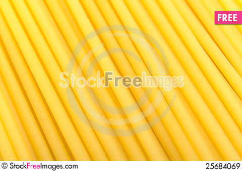 Free Bucatini Pasta Close-Up Royalty Free Stock Images - 25684069