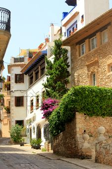 Free Spanish Village Stock Photo - 25681170