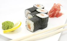 Free Japanese Sushi Royalty Free Stock Image - 25682326