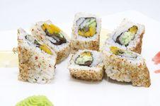 Japanese Sushi Stock Image