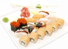 Free Japanese Sushi Royalty Free Stock Image - 25682356