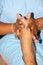 Free Reflexology Massage, Spa Foot Treatment,Thailand Stock Photos - 25687043