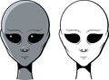 Free Portrait Of An Alien Stock Photos - 25696653