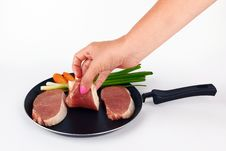 Free Raw Meat Royalty Free Stock Photo - 25695215