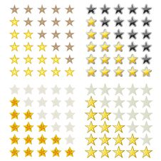 Free Ranking Stars Stock Photos - 25698073