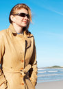 Free Blonde Woman In Sunglasses Royalty Free Stock Photos - 2571048