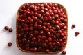 Free Cherry Red With Drops Stock Photography - 2579892
