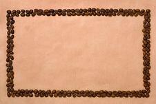 Free Rectangle Coffee Frame. Stock Photos - 2571913