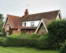 English Rural House Stock Photo