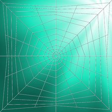 Free Spiderweb Illustration Stock Photography - 2572212