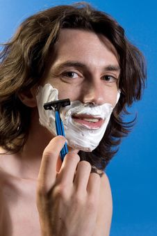 Free Shaving Time Royalty Free Stock Photos - 2572468